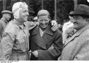 Bernd Rosemeyer, Elly Beinhorn, Ferdinand Porsche