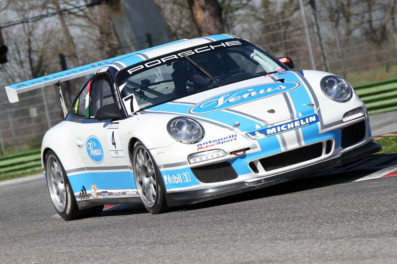 Carrera Cup Italia 2013: Giraudi nei test di Imola