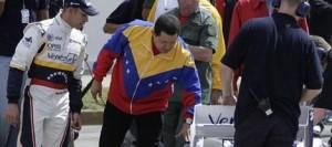 Pastor Maldonado ed il presidente venezuelano Hugo Chavez.