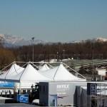 Il paddock Wtcc a Monza.