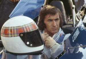 Sport Motor Racing. Formula One. pic: 19th July 1975. British driver Jackie Stewart at Monza.Jackie Stewart was Formula One World Champion three times in 1969, 1971 and 1973.