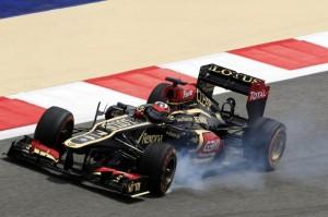 L'errore di Raikkonen all'ultima curva del suo giro più veloce.