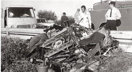 Giant Eagle Car Crash