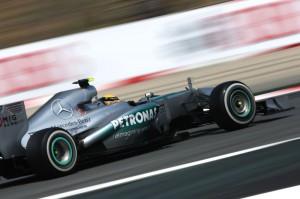 Nico Rosberg (Mercedes) ha conquistato la pole al termine delle qualifiche per il GP di Spagna 2013.