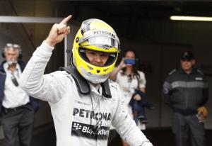 Nico Rosberg (Mercedes), il dominatore del GP di Monaco 2013.