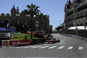 Lo sfortunato Felipe Massa durante le prove libere.