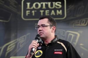 Eric Bouillier, team principal della Lotus.