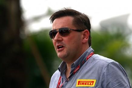 Paul Hembery, direttore di Pirelli Motorsport.