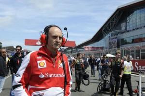 Luca Marmorini, responsabile del reparto motori della Scuderia Ferrari.