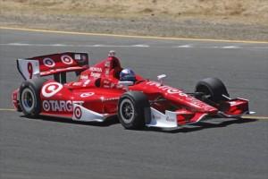 Dixon in azione sulla pista californiana di Sonoma