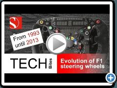 F1: evoluzione del volante dal 1993 al 2013