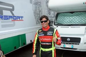 Ander Vilarino, vincitore di gara 1 a Monza