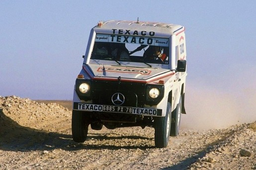 1983 Paris-Dakar Rally winner 280GE 3