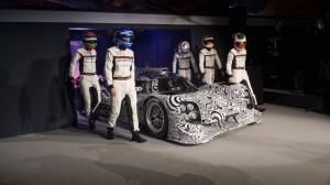 La presentazione ufficiale della Porsche 919 Hybrid.