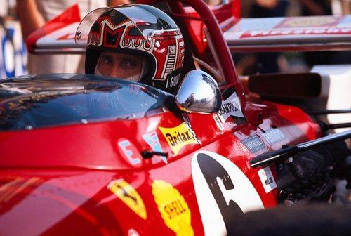 Italian Ferrari driver Ignazio Giunti