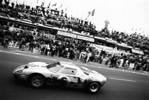 GT Class Racecar Winning 24 Hours of Le Mans