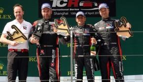 TCR Shanghai  podio gara 1