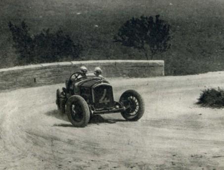 Boillot in azione Coppa Florio 1925