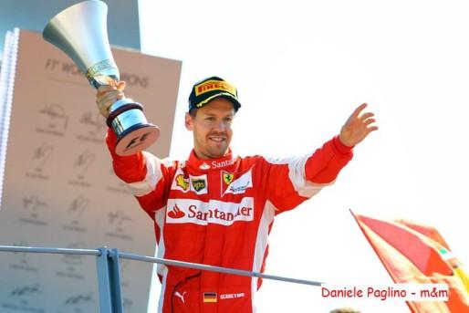 Vettel podio