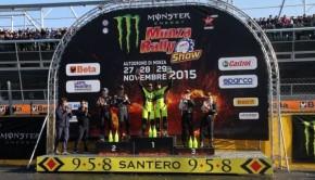 Monza Rally Show 2015 il podio