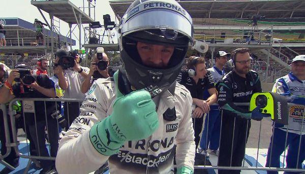 Nico Rosberg pole al GP del Brasile 2015