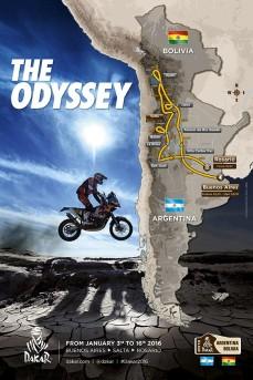 Il percorso della Dakar 2016