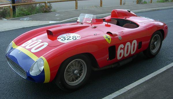 Ferrari 290 MM del 1956 di Manuel Fangio