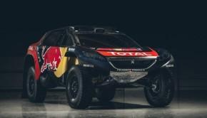 Peugeot 2008 DKR16 per la Dakar 2016