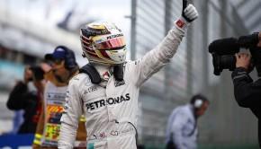Hamilton pole GP Australia