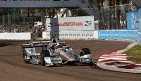 Montoya alla gara Indycar a San Petersburg