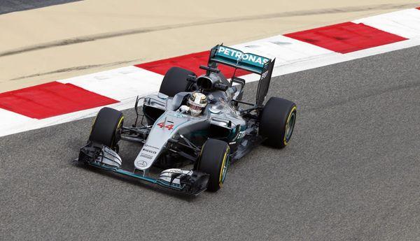 GP Bahrain 2016 Hamilton Pole
