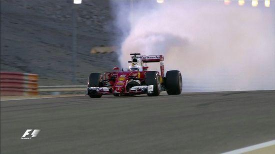 Vettel Bahrein 2016