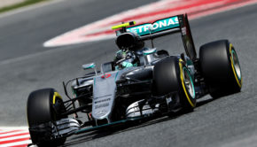 MONTMELO, SPAIN - MAY 13: Nico Rosberg of Germany driving the (6) Mercedes AMG Petronas F1 Team Mercedes F1 WO7 Mercedes PU106C Hybrid turbo on track during practice for the Spanish Formula One Grand Prix at Circuit de Catalunya on May 13, 2016 in Montmelo, Spain.  (Photo by Mark Thompson/Getty Images)