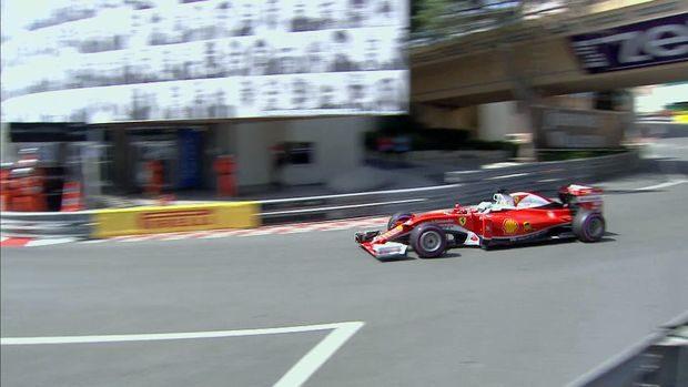 Vettel GP Monaco 2016 prove libere 3