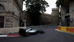GP Europa a Baku Hamilton
