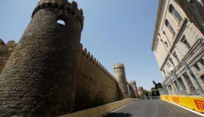 GP Europa la pista di Baku