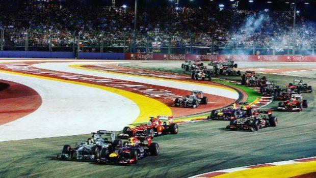 Formula 1 partenza GP Singapore