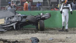 Bernie Ecclestone per incidente di Alonso