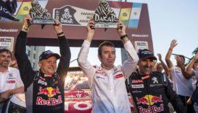 Cottret Famin Peterhansel alla Dakar 2017