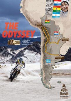 Il percorso della Dakar 2017