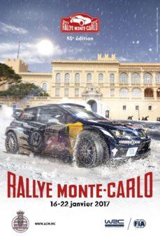 Locandina del Rallye di Monte Carlo 2017