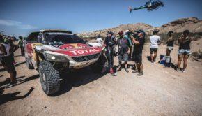 Stephane Peterhansel alla tappa 10 della Dakar 2017