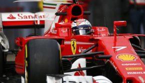 Raikkonen test a Barcellona