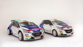 208 T16 e R2 di Peugeot Italia