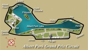 Circuito del GP Australia 2017