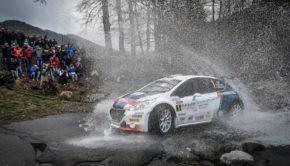 Rally del Ciocco - Andreucci - peugeot 208 T16