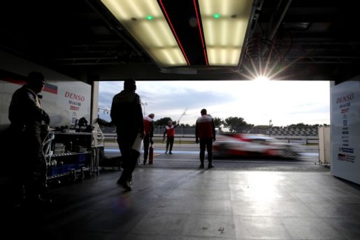 Test Toyota al Paul Ricard in preparazione della stagione 2017