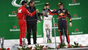 GP Cina podio