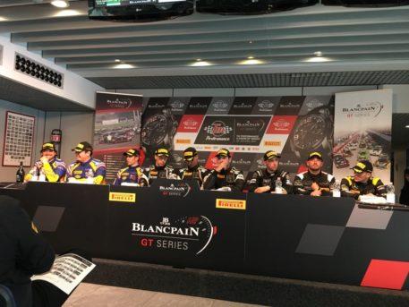 I primi tre equipaggi classificati alla 3 Ore di Monza