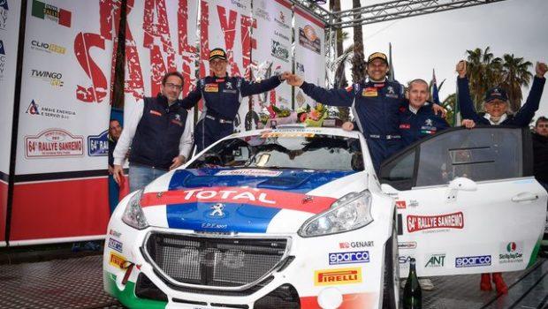 Rally di Sanremo vittoria Andreucci